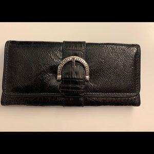 Brighton wallet. Gorgeous black trifold.